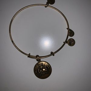 Alex and Ani gold bracelet.